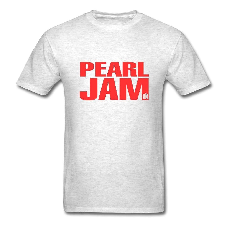 Men's Jersey Pearl-Jam Announce 2016 O2 UK Tour T-shirt Medium