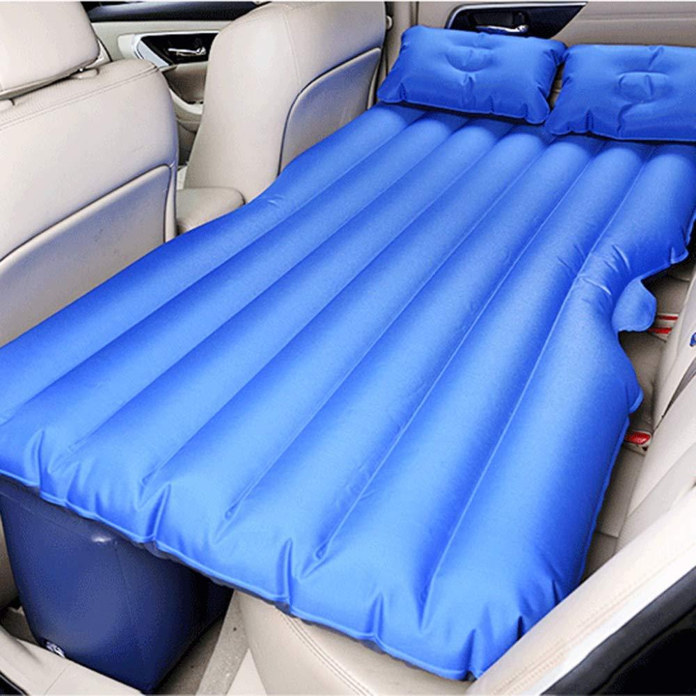 XULO Auto Aufblasbare Matratze Auto Bett Mobile Kissen Camping Air Bed Zwei Kissen Für Reise und Schlaf Rest