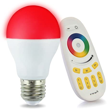 1 x Bombillas LED original MILIGHT Color RGB - luz blanca cálida, 6 Watt,