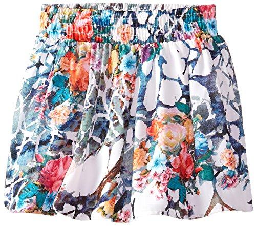 Truluv Big Girls' Floral Print Skirt