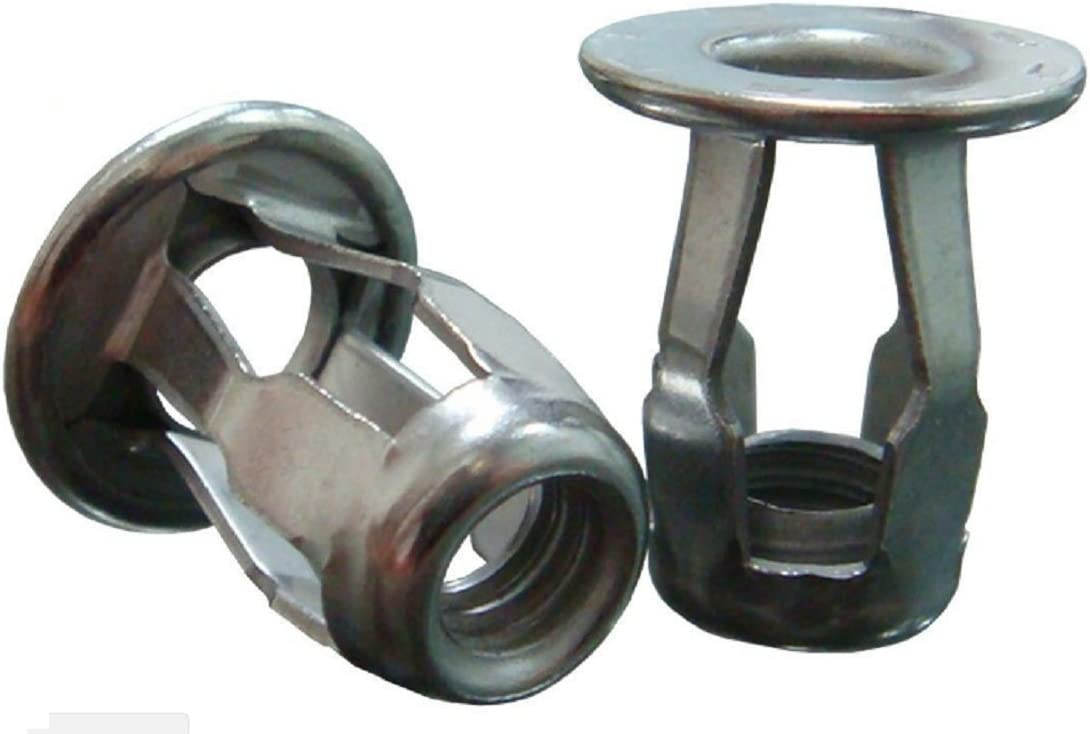 2 Packs of 15 The Hillman Group 59127 Long Jack Nut 1//4-20-Inch