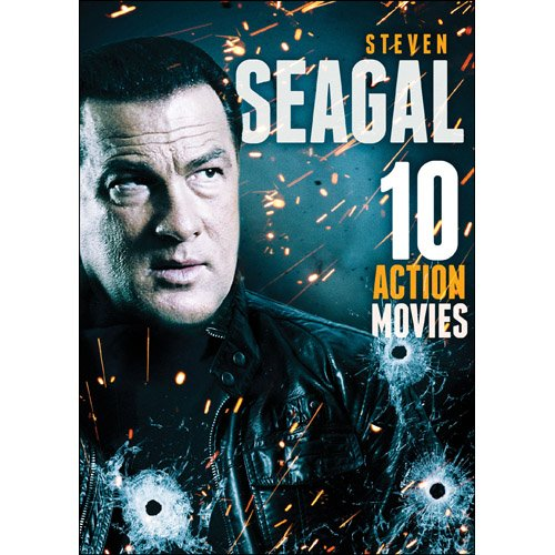 10-Film Action Featuring Steven Seagal (Full Frame, 2 Pack, Widescreen, Slim Pack, 2PC)