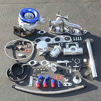 For Honda Civic/Acura RSX 2.0L High Performance 11pcs T04E Turbo Upgrade Installation Kit
