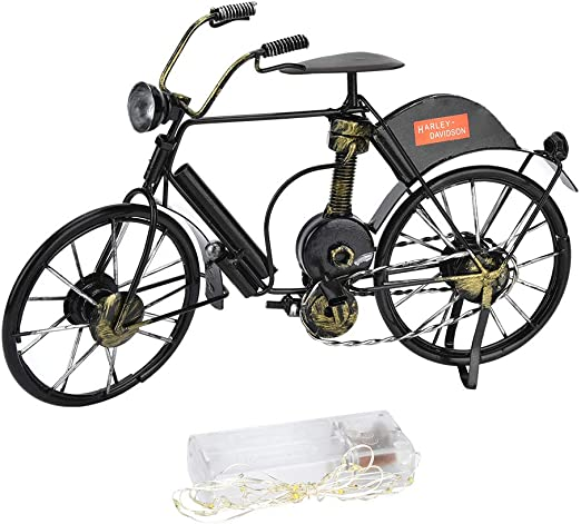 Pasamer Modelo de Bicicleta en Miniatura Artesanía en Bicicleta de ...
