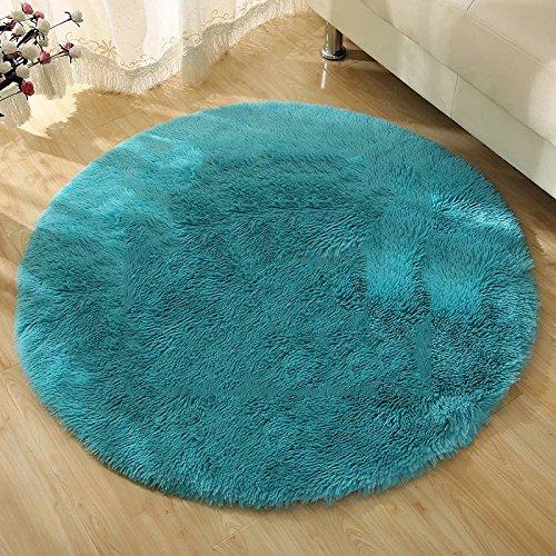 Amazon.com: QIAO Rug Carpet Living Room Bedroom Round Carpet ...