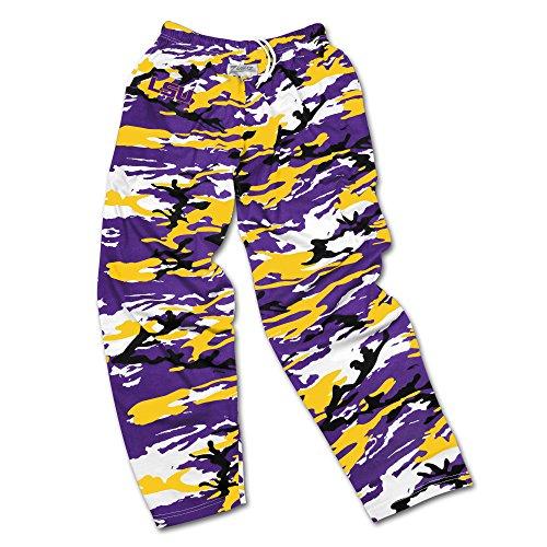 zubaz pants purple - 4