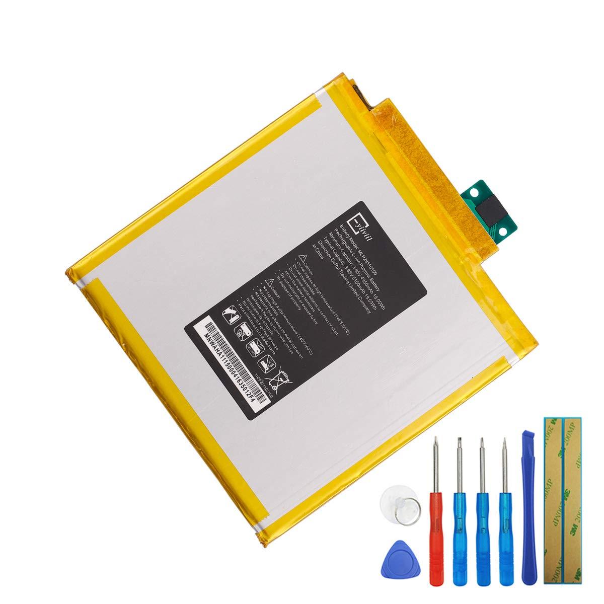 Bateria Para Verizon Ellipsis 8 Model QTASUN1