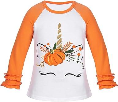 Alvivi Tops Camiseta Manga Larga Algodón Lunares para Bebés ...