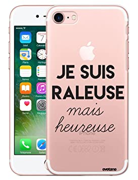 coque iphone 8 rigide transparente