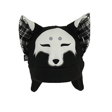Amazon.com: pawstar Spooky Fox Wolf de adultos Sombrero ...