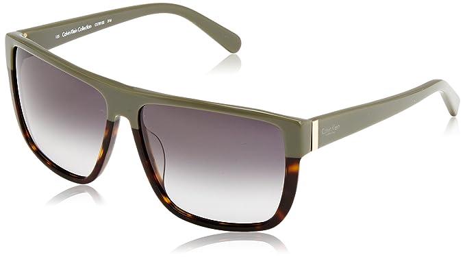 Amazon.com: Calvin Klein anteojos de sol Wayfarer Cuadrados ...