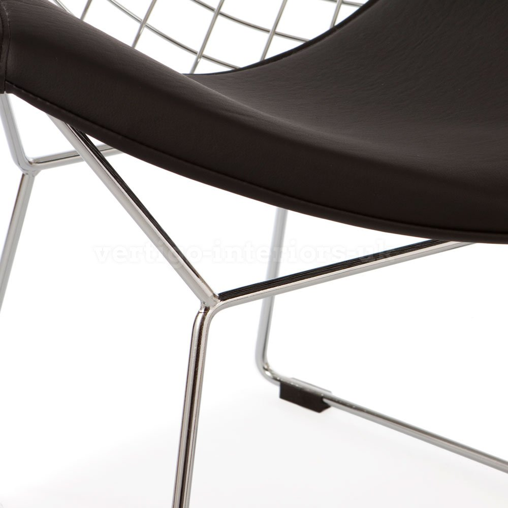 bertoia style chair. Amazon.com: Mid Century Modern Design Harry Bertoia Style Diamond Lounge Chair - Black Seat Pad: Kitchen \u0026 Dining S