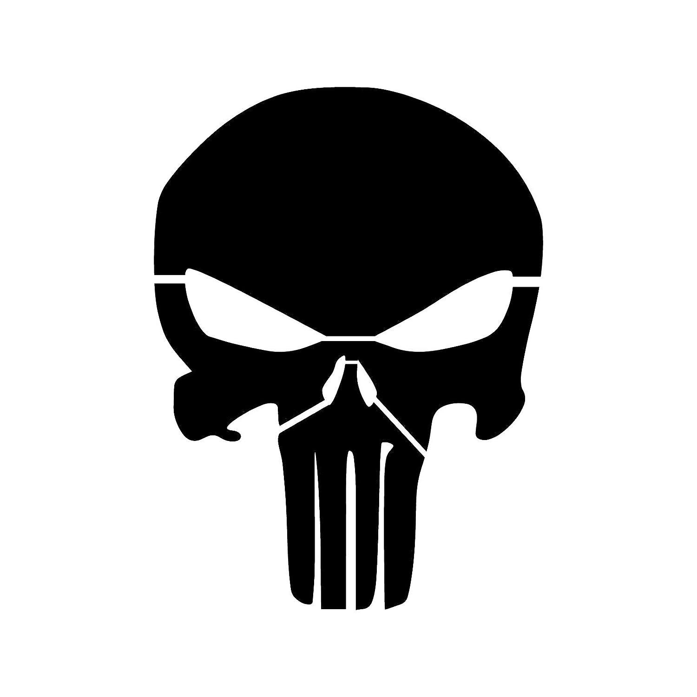 Amazon Punisher Skull Stencil Template