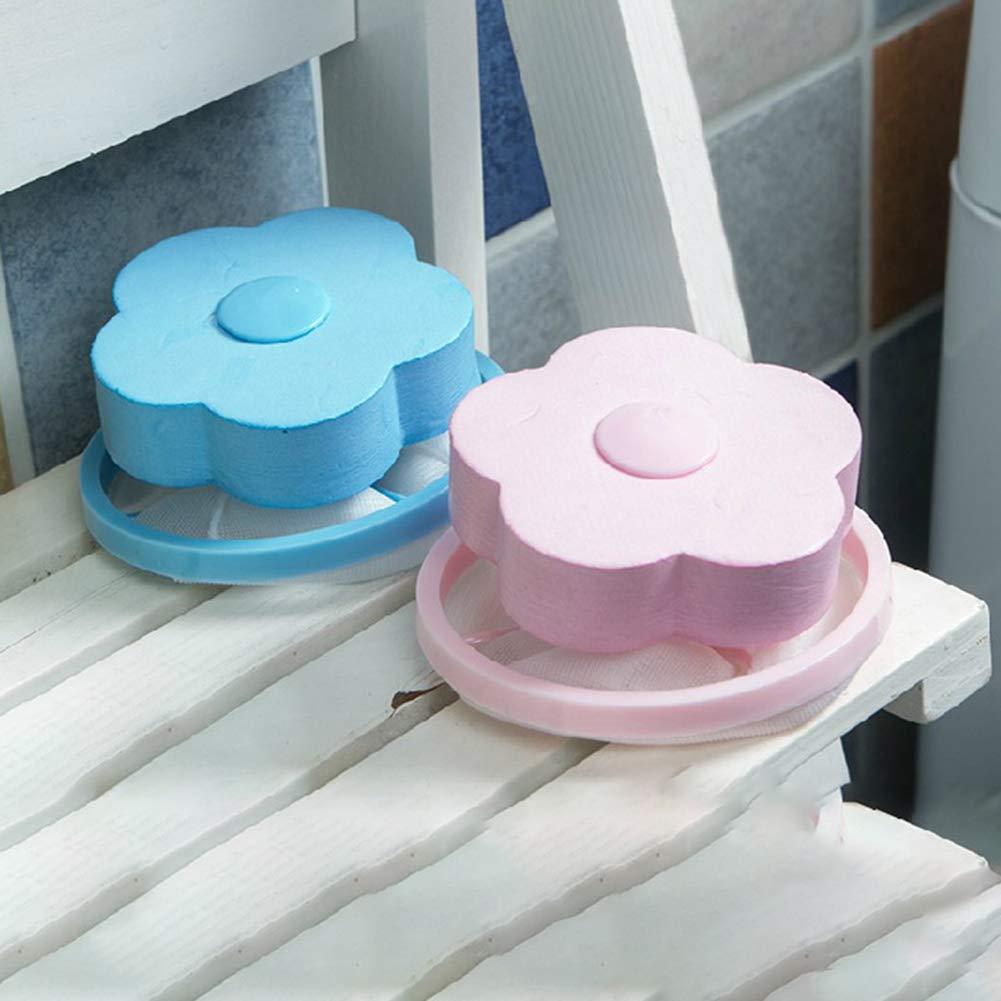 2 Sacchetti in Rete per Il Filtro della Lavatrice Blue Homeofying