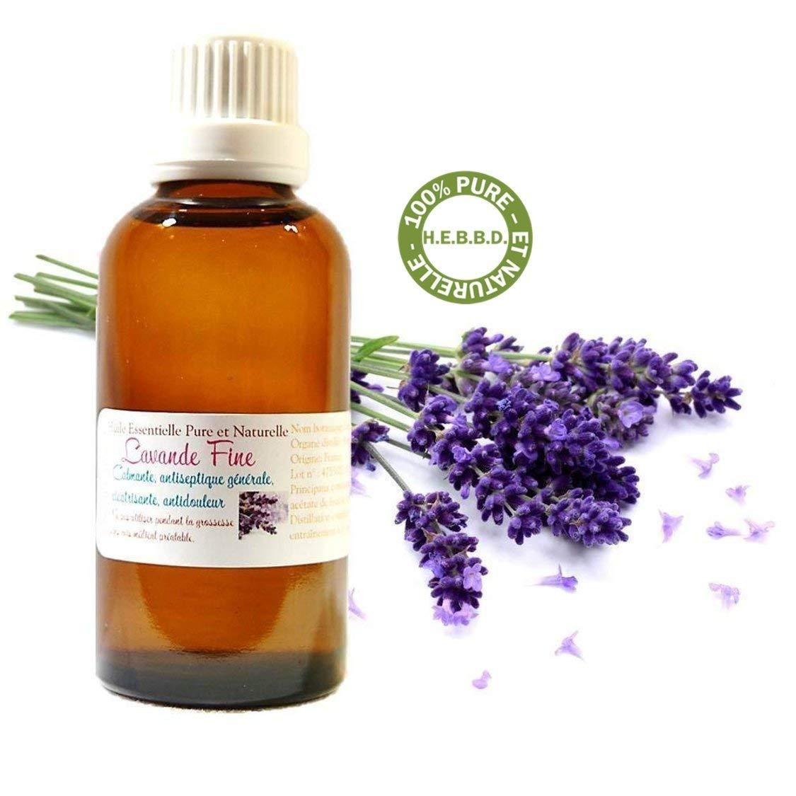 Huile Essentielle HEBBD de Lavande Fine (Lavande Vraie) de Provence (30ml) product image
