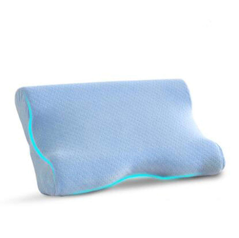 Late-love メモリーフォーム しわ防止 美容枕 しわ防止 ブルー  スカイブルー B07KSPGCXL
