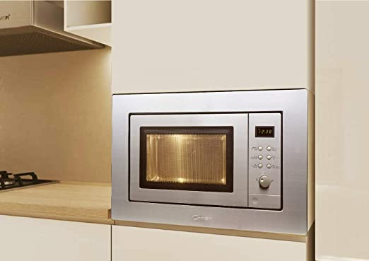 Candy MIC201EX - Microondas integrable con grill y marco, Potencia ...