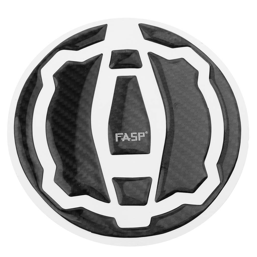 Amazon.com: Flameer Carbon Fiber Fuel Gas Cap Cover Pad ...