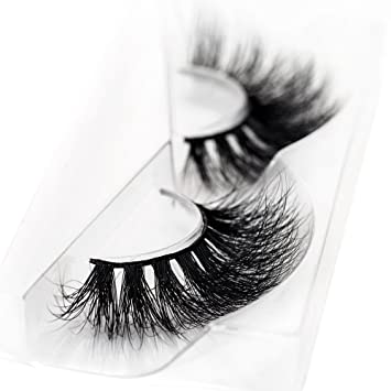 bdb33d4d18f Amazon.com : 3D Mink False Eyelash 100% Handmade Strip Lashes, Pinkzio  Reusable Extra Thick, Dramatic Volume Double Layer Fake Lashes 3D Faux Mink  ...