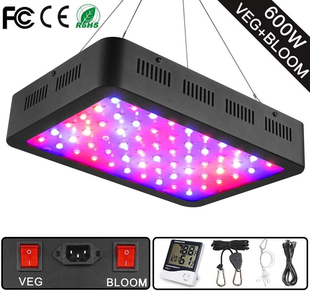 Wakyme 600 Watt Full Spectrum Grow Light