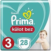 Prima Külot Bebek Bezi, 3 Beden, 28 Adet, Midi Tekli Paket