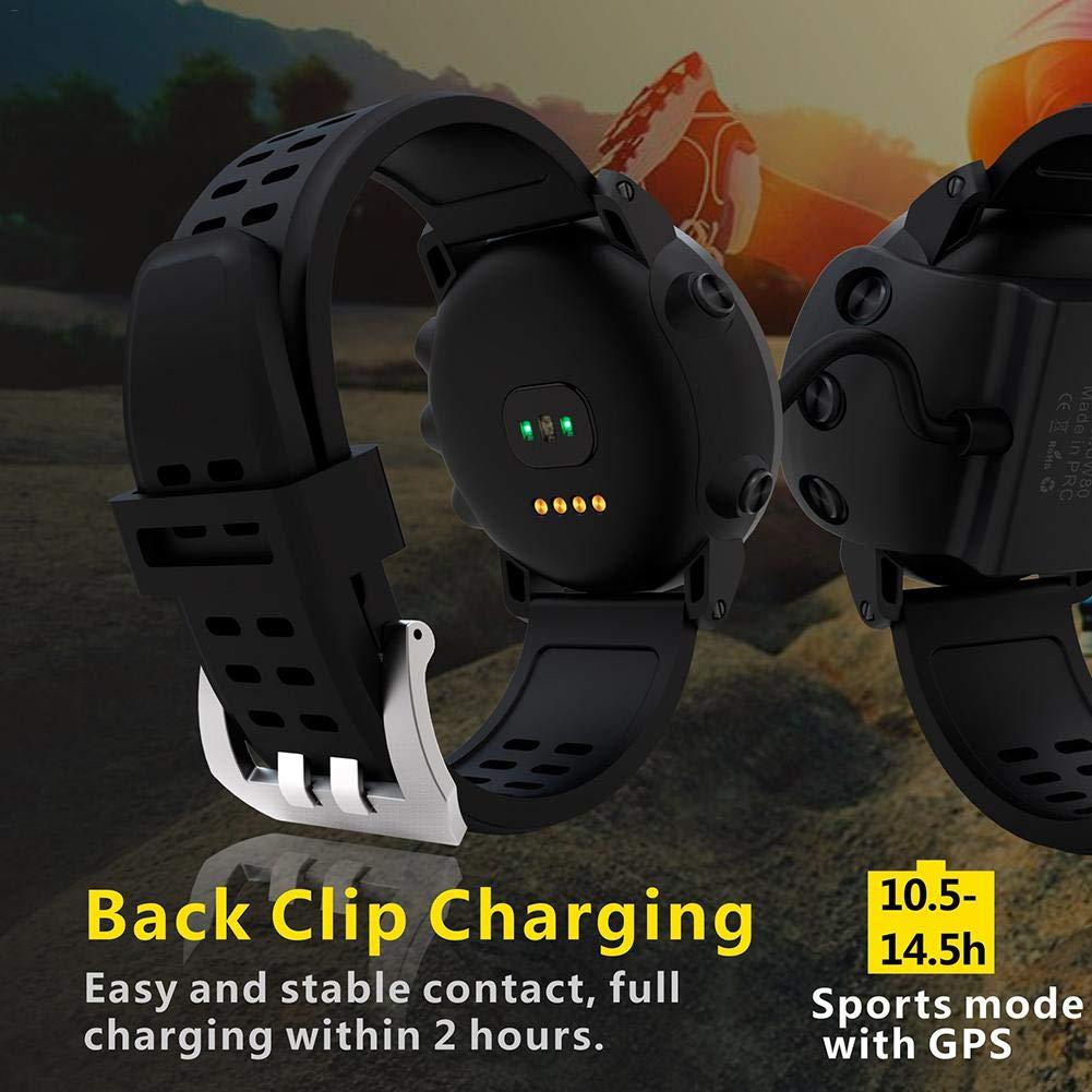 AUTOECHO UW80C GPS Senderismo reloj inteligente, deportes al aire libre reloj impermeable a prueba de agua, modo multifunción, para el seguimiento de correr ...