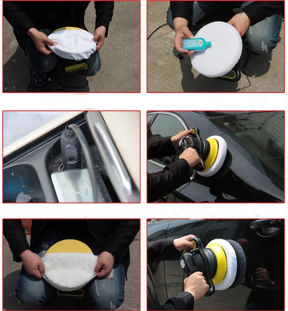 ROBAYSE Car Polishing Machine, 12V Car Waxing Mmachine, 9-inch Turntable by ROBAYSE (Image #4)