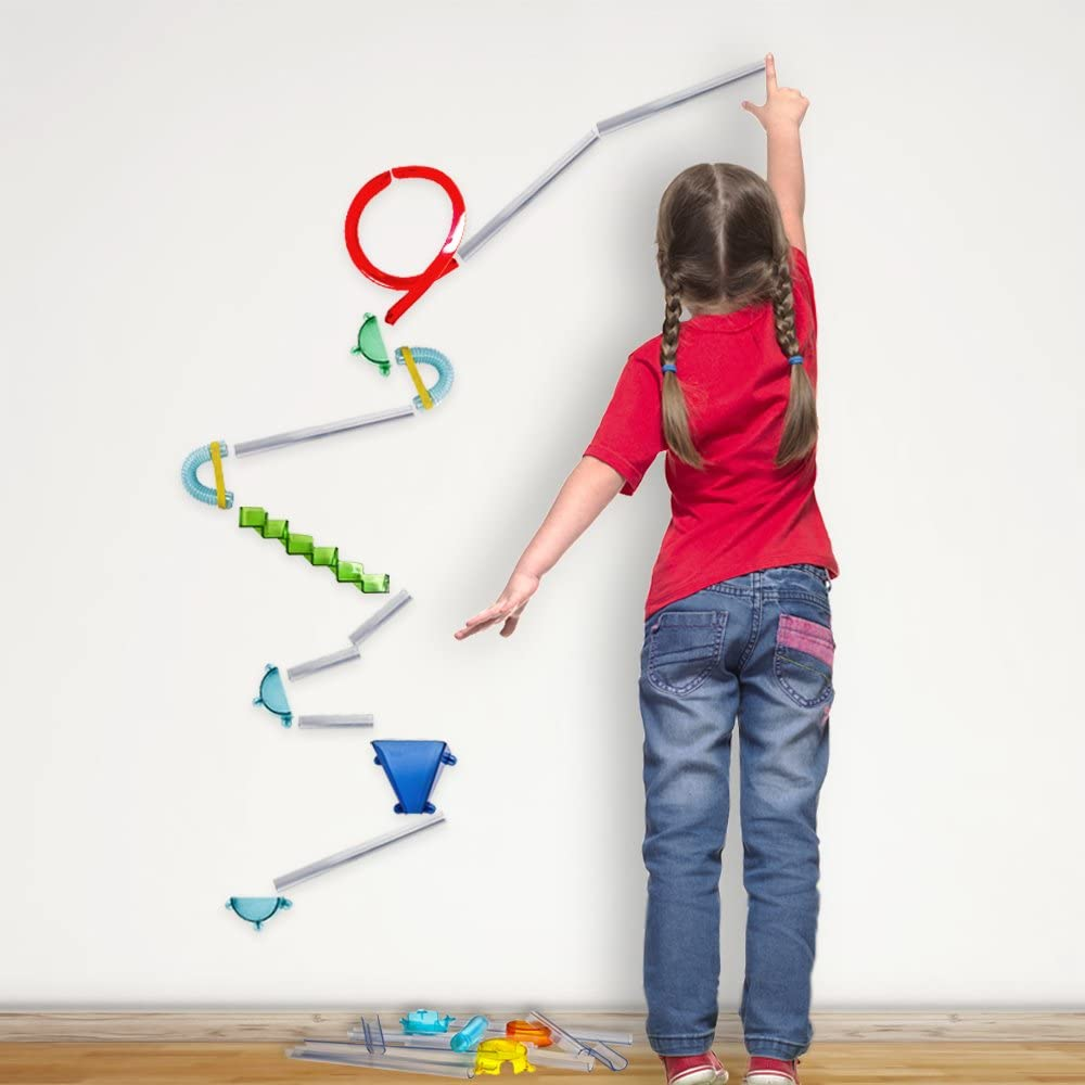 Extreme Stunt Kit Includes Super Starter Kit Crazy Stairs and Super Loop Add-On Packs Wall Coaster The Ultimate Set
