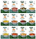 Ruhil's Ready To Eat Meal Just Heat & Eat Variety Pack of 12-10.582oz each