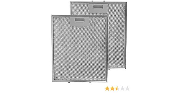 Spares2go campana Kit de filtro de grasa para Cooke /& Lewis Cocina Extractor Ventilaci/ón