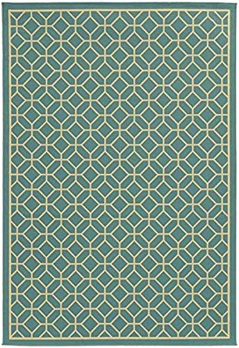 Oriental Weavers 4771E Riviera Collection Area Rug, 8 6 x 13