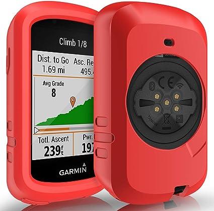 GPS Bike Computer Accessories TUSITA Case for Garmin Edge Explore 820 Silicone Protective Cover
