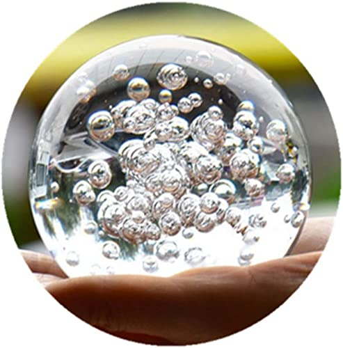 Crystal Glass Marbles Water Fountain Bubble Ball feng Shui Decorative Glass Balls Home Indoor Water Fountain Figurines 60mm