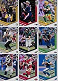 2018 Panini ELITE NFL Football Series Complete Mint 100 Card Basic Veteran Players Set including Tom Brady Aaron Rodgers Rob Gronkowski and Many More