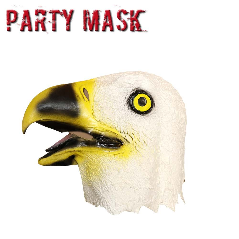 Amazon.com: Monstleo Novelty Halloween Costume Bald Eagle Latex ...