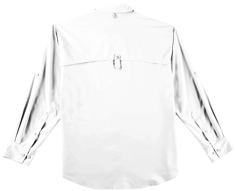 Reel Legends Mens Saltwater II Solid Long Sleeve Shirt