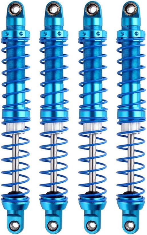 INJORA RC Amortiguadores RC Shock Absorber RC Damper Set para 1/10 RC Truck Crawler Axial SCX10 TRX4 D90 (80mm)