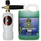 Chemical Guys EQP_312 TORQ Professional Foam Cannon and Honeydew Snow Foam Cleanser (1 Gal)