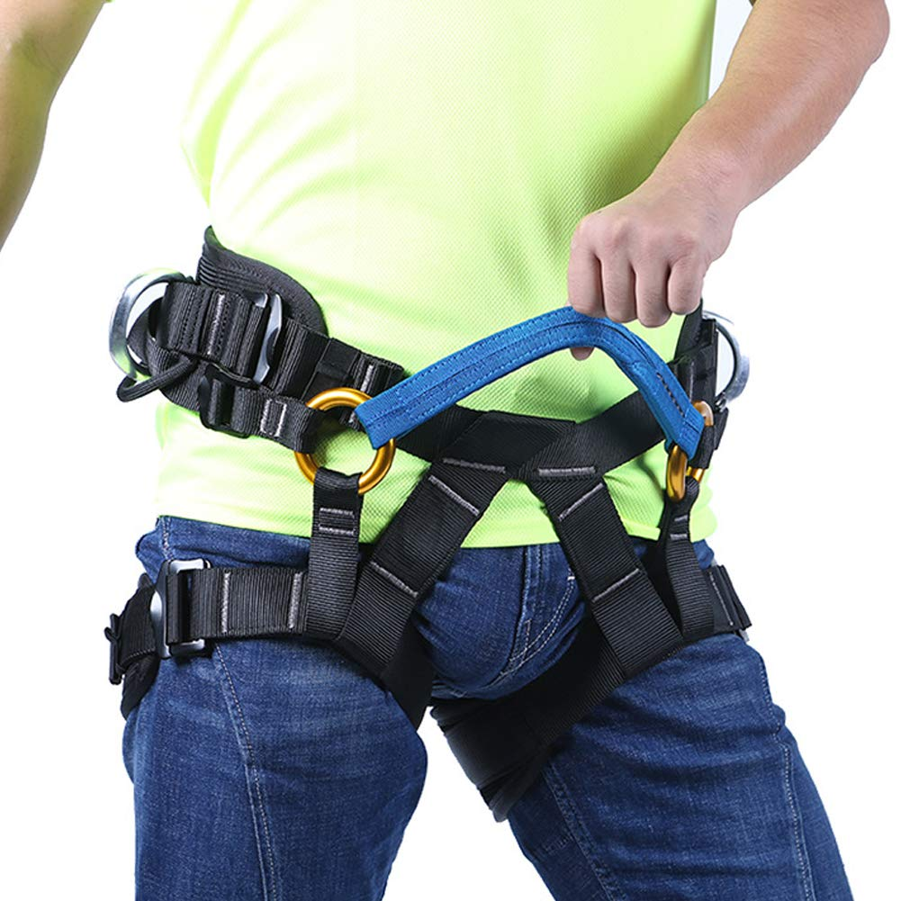 Outdoor Rock Climbing Harness Half-Length Rescue seat Belt Rappelling high-Altitude seat Belt by HENRYY (Image #9)