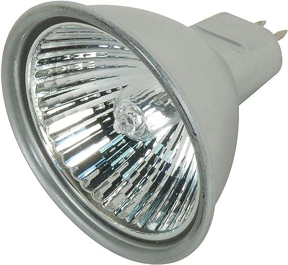 Satco 50MR16//FL Halogen MR Halogen 50W GU5.3//GX5.3 MR16 Pack of 6 Bulb