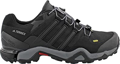 Adidas Sport Performance Men's Terrex Fast R Gore-TEX Hiking Sneakers, Black  Textile,