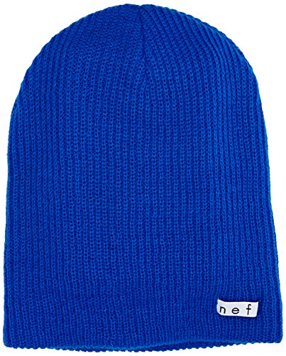 Neff Unisex Daily Beanie, Warm, Slouchy, Soft Headwear, Blue, One Size