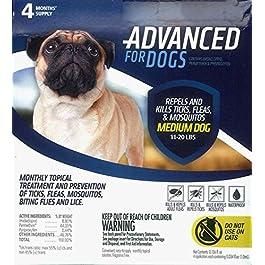 Para Defense Advanced 11-20 lb Dog Pet Flea Control Supply, Medium