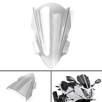 Artudatech Parabrisas para motocicleta delantera, parabrisas ...