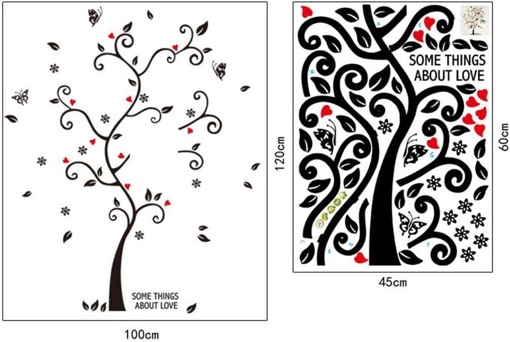 harder Stickers muraux d/écorations murales de Salon Photo d/écoration Fond Arbre Stickers muraux