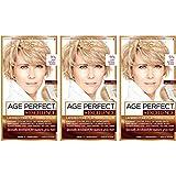 L'Oréal Paris Age Perfect Permanent Hair Color, 9N Light Natural Blonde,3 count