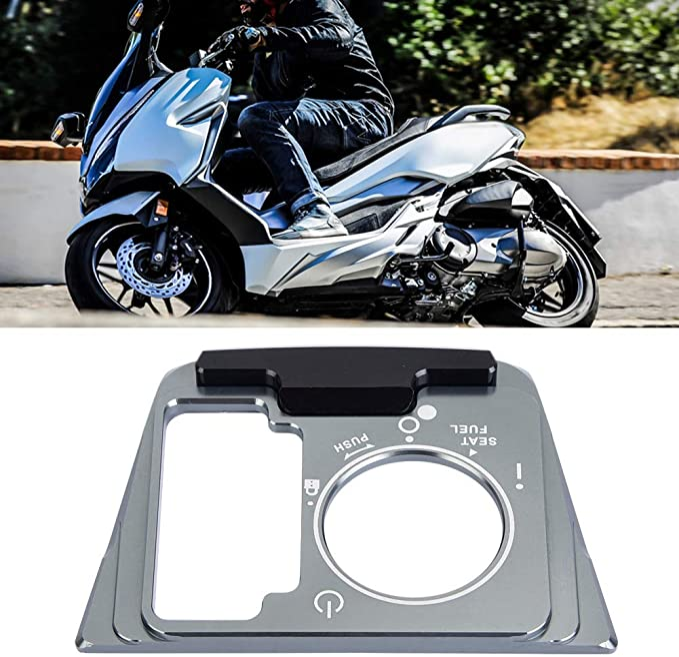 colore titanio Duokon Telaio copri interruttore elettrico per motocicli per 300 2018-2019