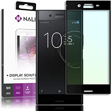 NALIA Cristal Templado Compatible con Sony Xperia XZ Premium ...