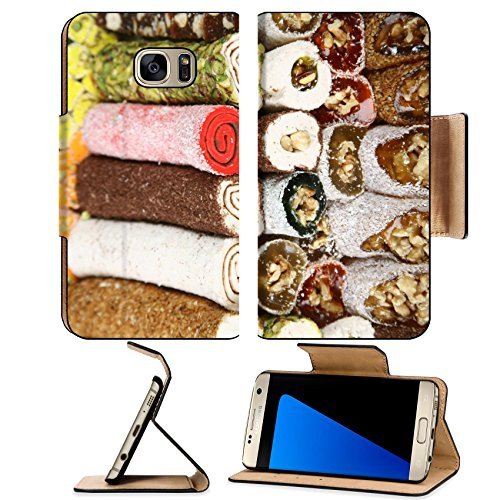 Price comparison product image Luxlady Premium Samsung Galaxy S7 Edge Flip Pu Leather Wallet Case IMAGE ID 7083390 energy and power resources of its own Turkish delight