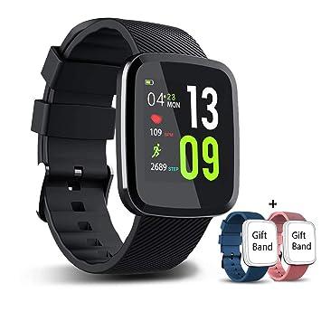 EUMI Smartwatch, Reloj Inteligente con IP67, Pulsera Actividad ...
